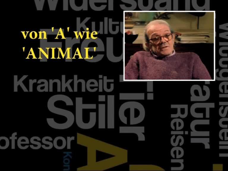 Film Abecedaire Gilles Deleuze Von A Bis Z Absolut Medien