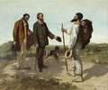 Film Von Der Romantik Zum Realismus Delacroix Ingres Courbet
